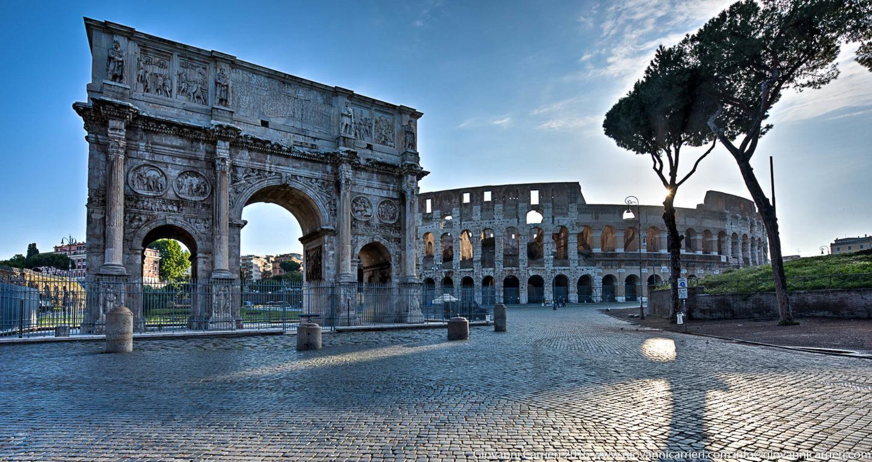 фото арки Константина в Риме