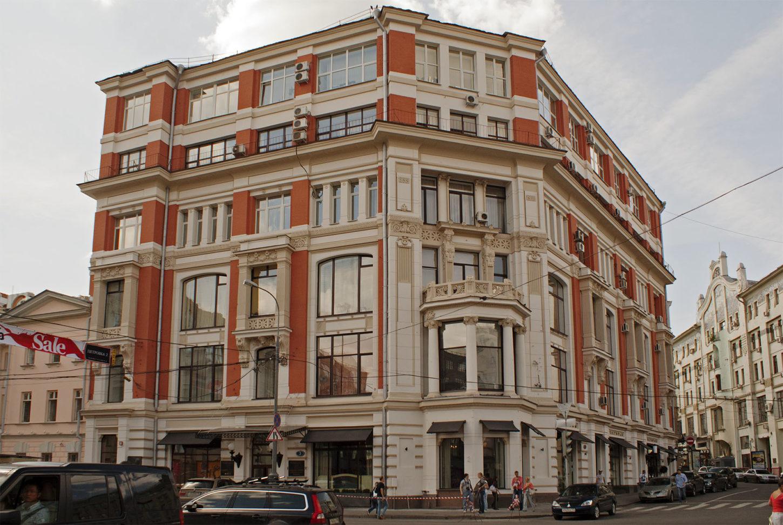 фото торгового дома Хомякова на Кузнецком мосту