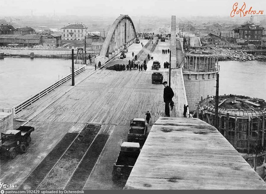 фото старого Володарского моста