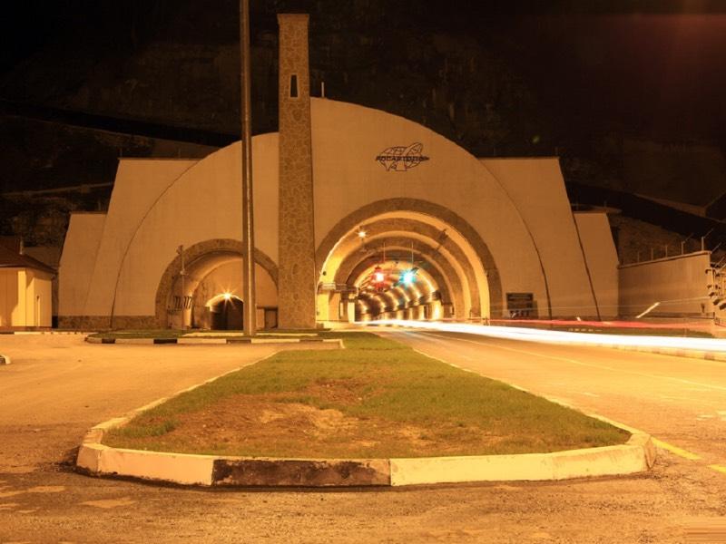 фото Гимринского тоннеля в Дагестане
