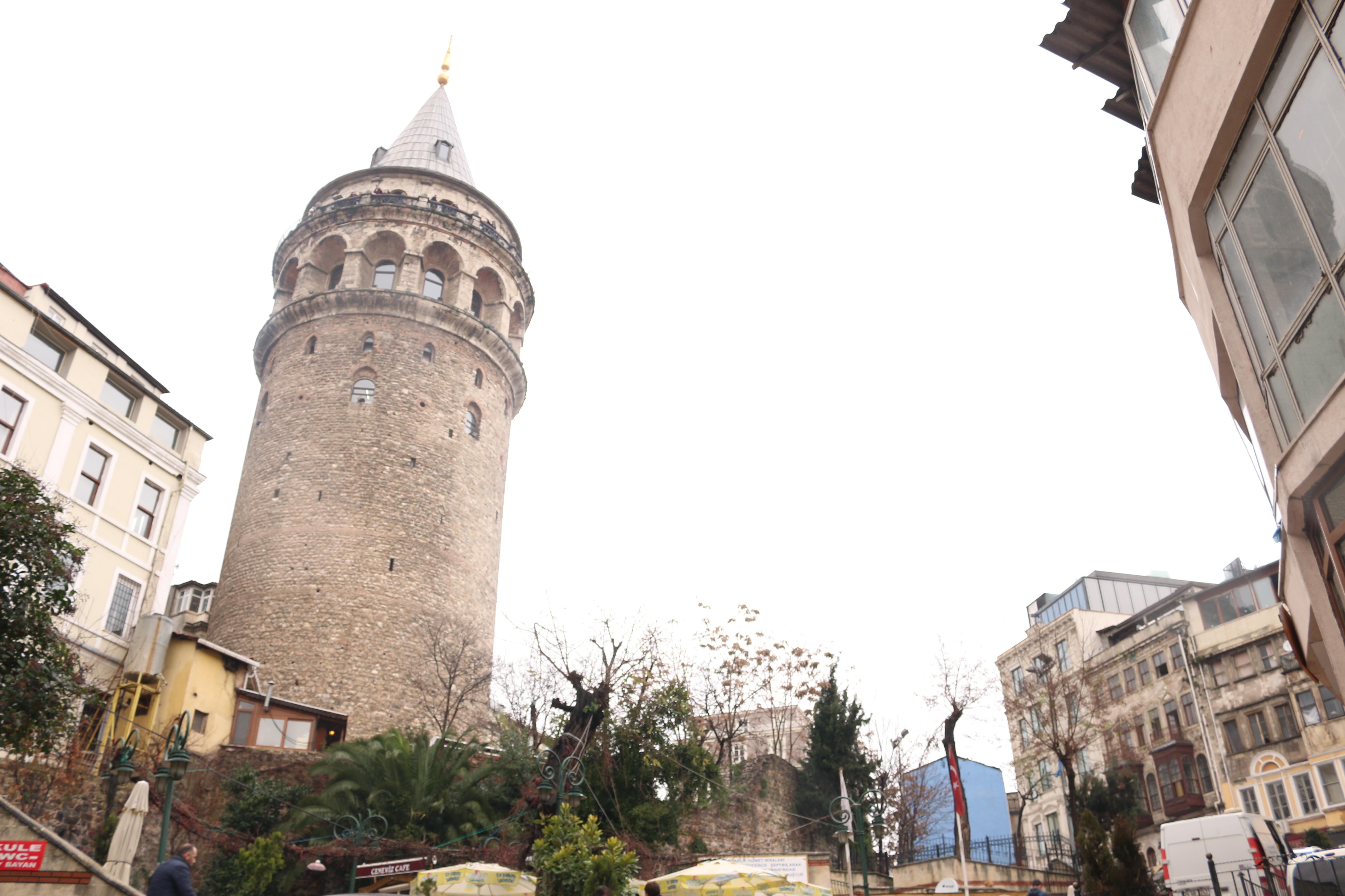 фото вида на Галатскую башню