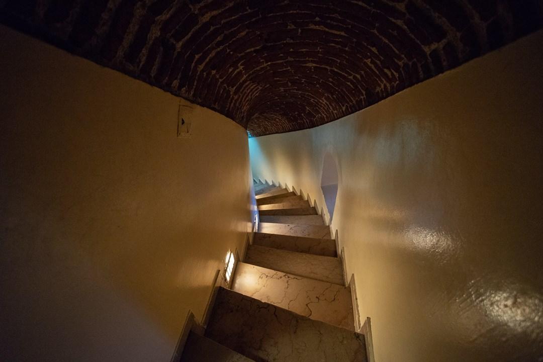 фотография внутренней части Галатской башни