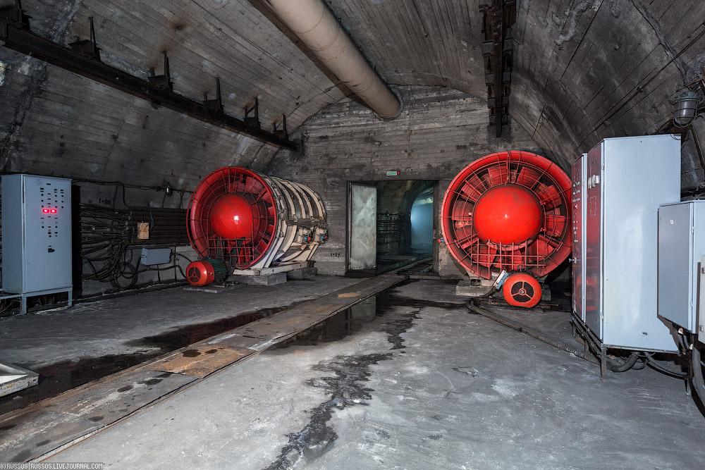 фото оборудования в Северомуйском тоннеле