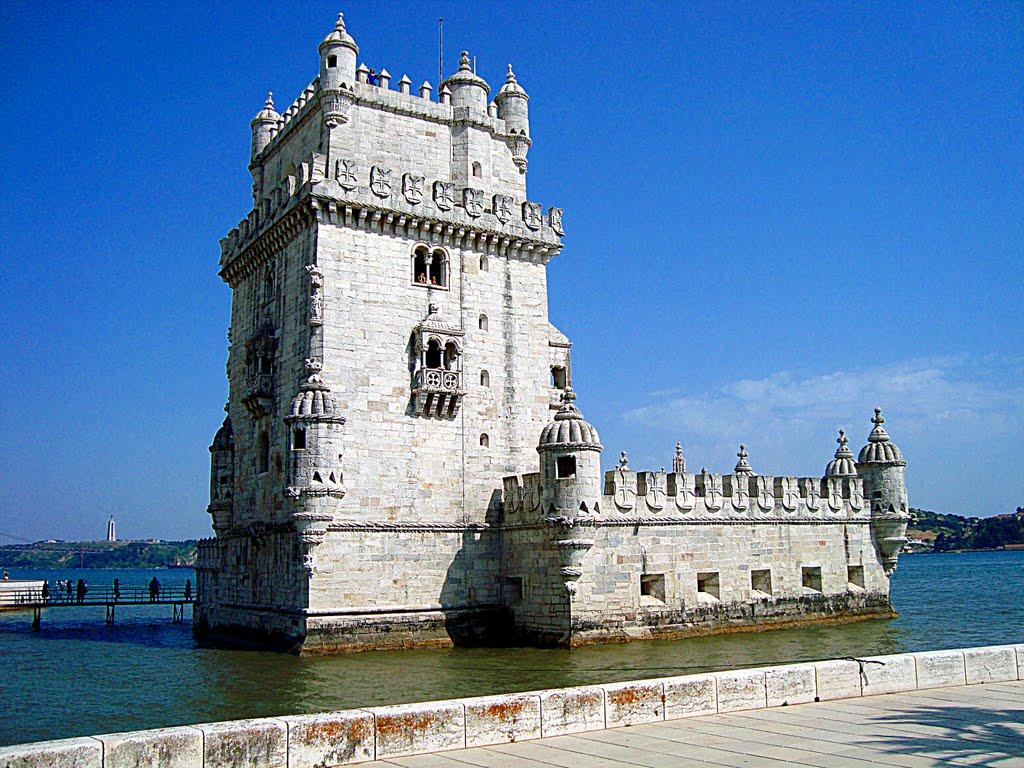 фотография португальской башни Белен