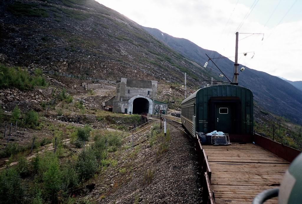 вид на Северомуйский тоннель фотография