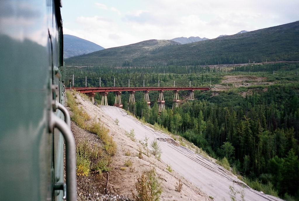 фотография чертового моста Северомуйский тоннель