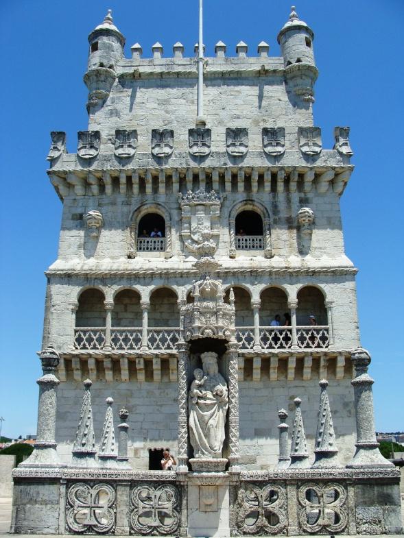 статуя башни Белен в Лиссабоне фотография