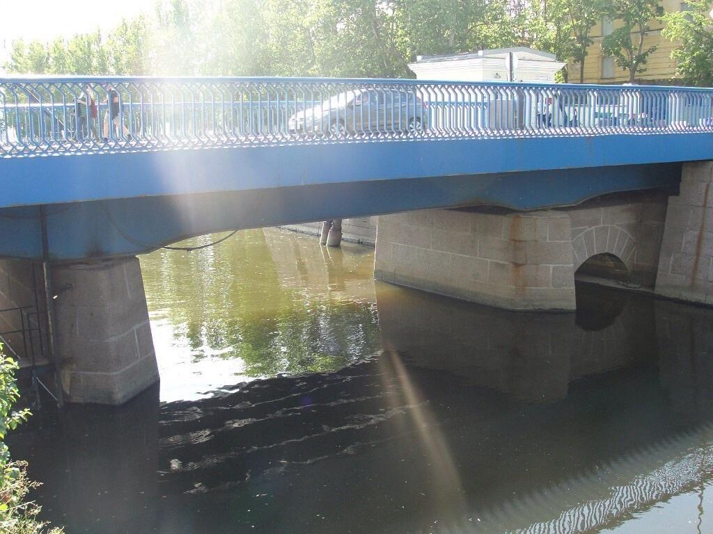 фото Синего мофото Синего моста в Кронштадте ста в Кронштадте