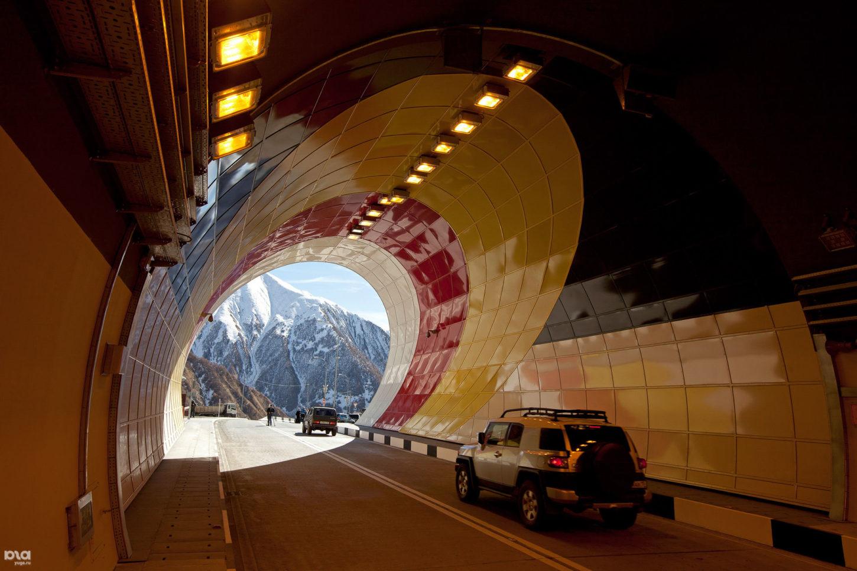 фотография рокского тоннеля внутри