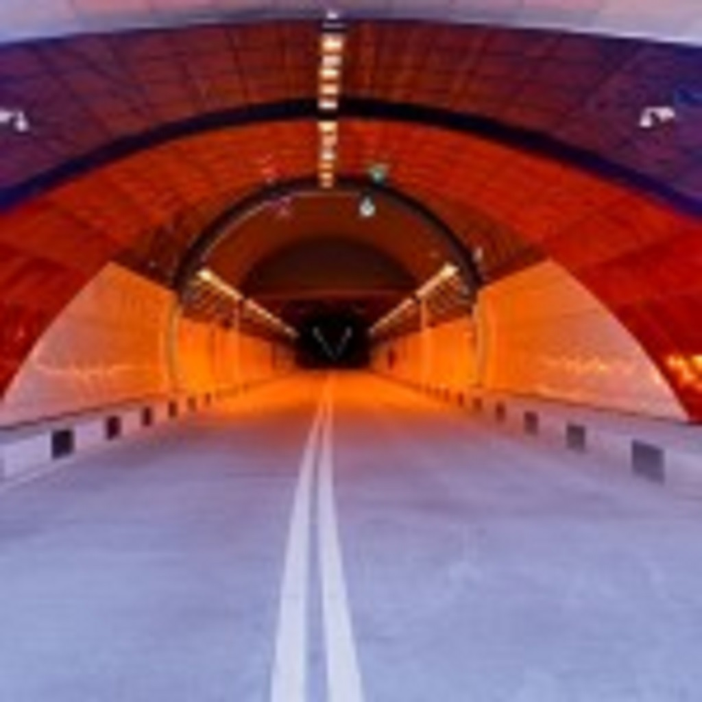 фото Рокского тоннеля