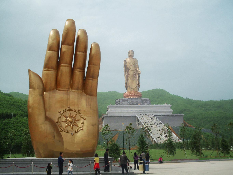 Будда Вайрочана в Лушане фотография