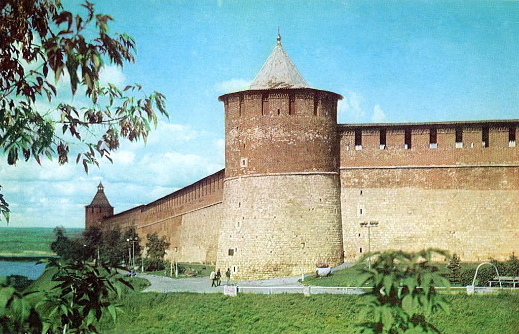 фото нижегородской Коромысловой башни