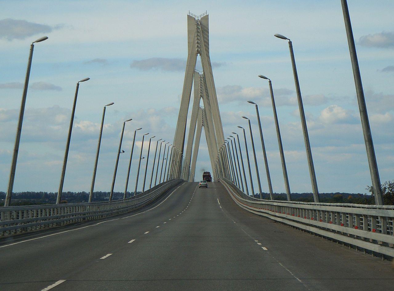 фото верхней части Муромского моста