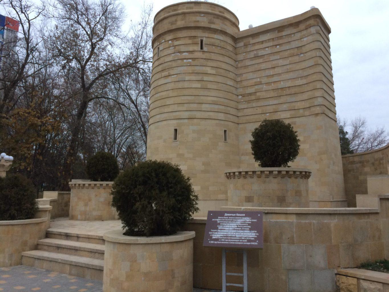 фото входа в бакинскую Девичью башню