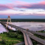 Октябрьский мост в Череповце