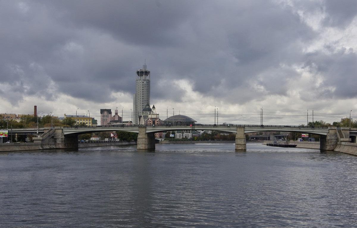 Новоспасский мост вид сбоку фотография