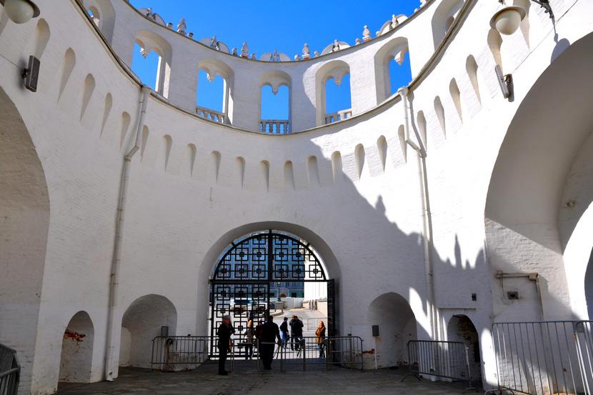 фотография внутри Кутафьей башни
