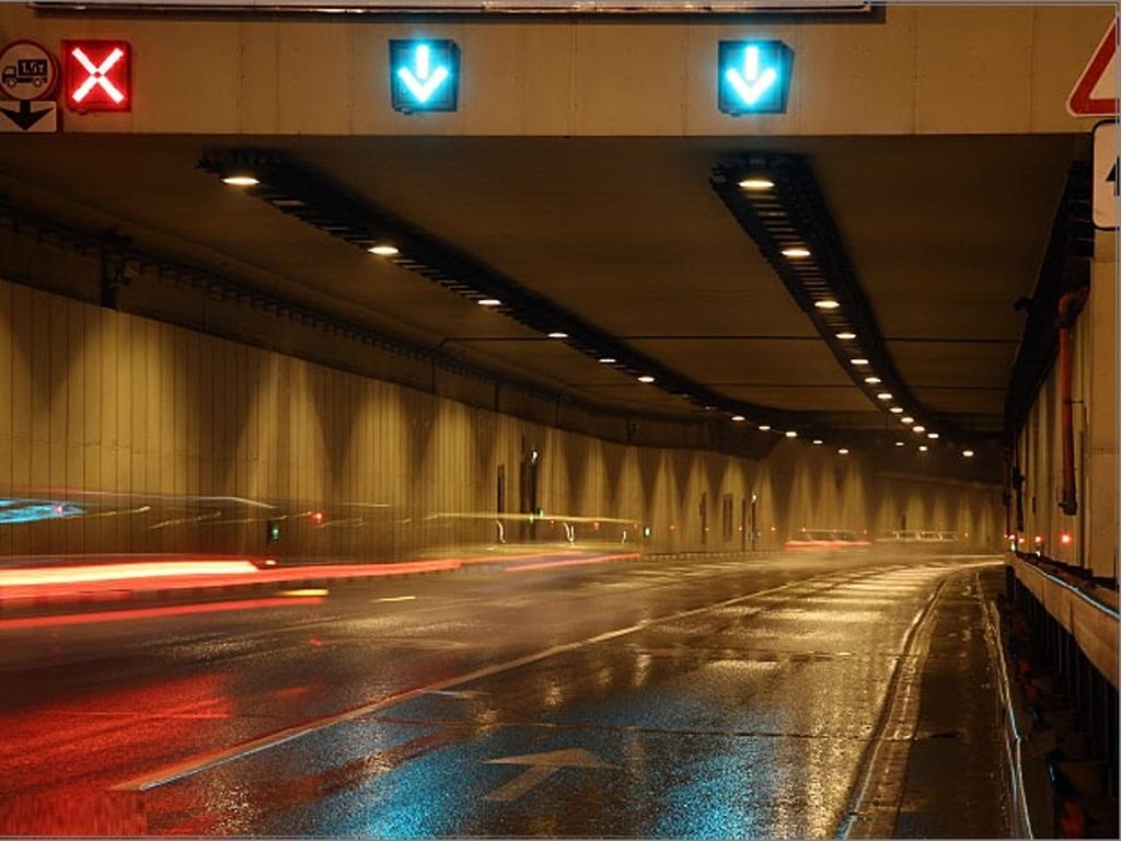 фото Лефортовского тоннеля внутри