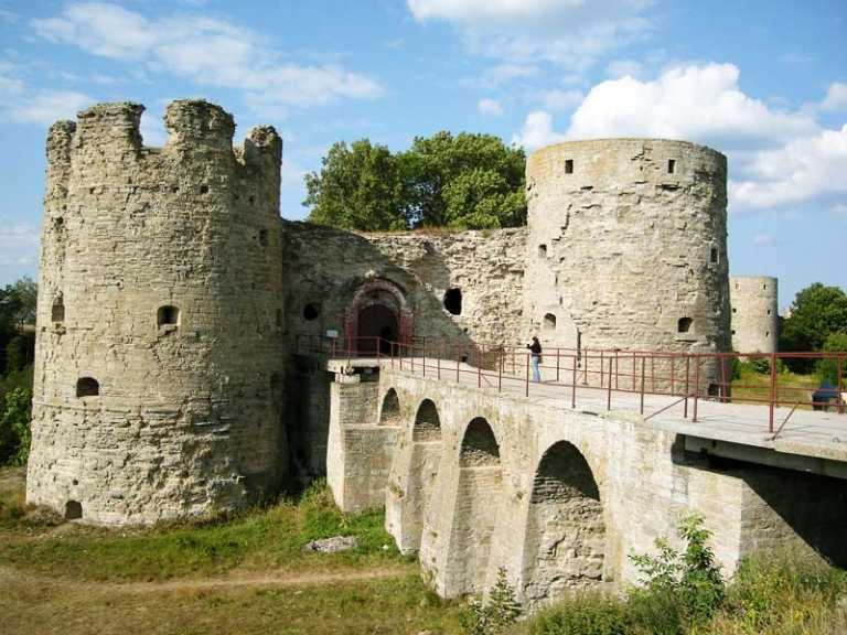 фото Копорской крепости