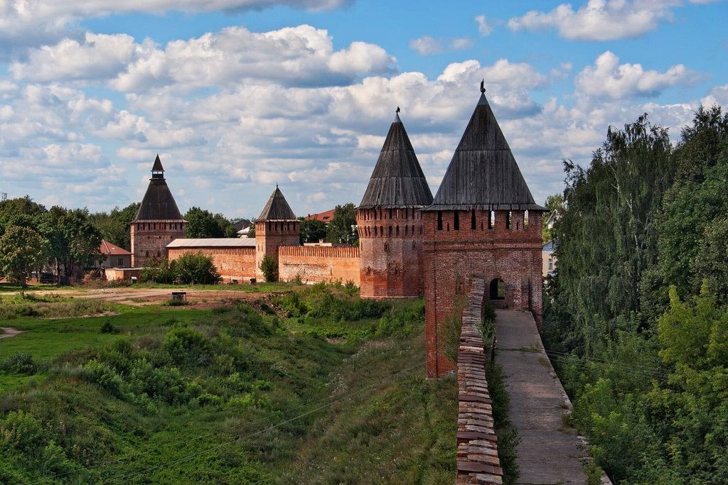 фотография Смоленской крепости