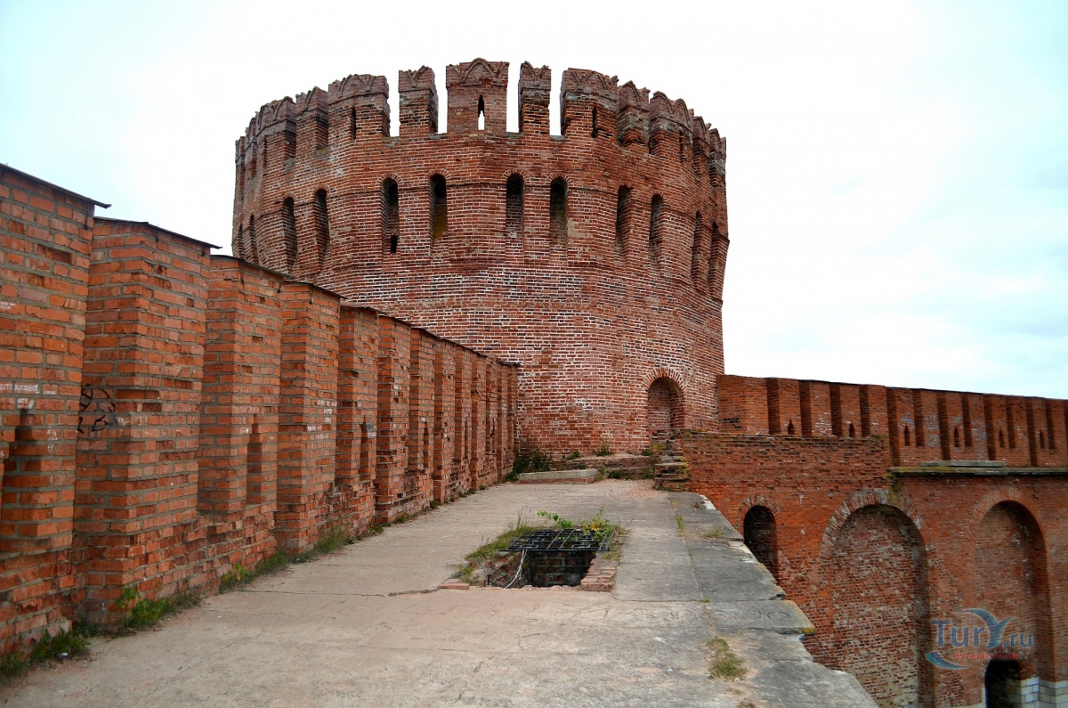 фото башен Смоленской крепости