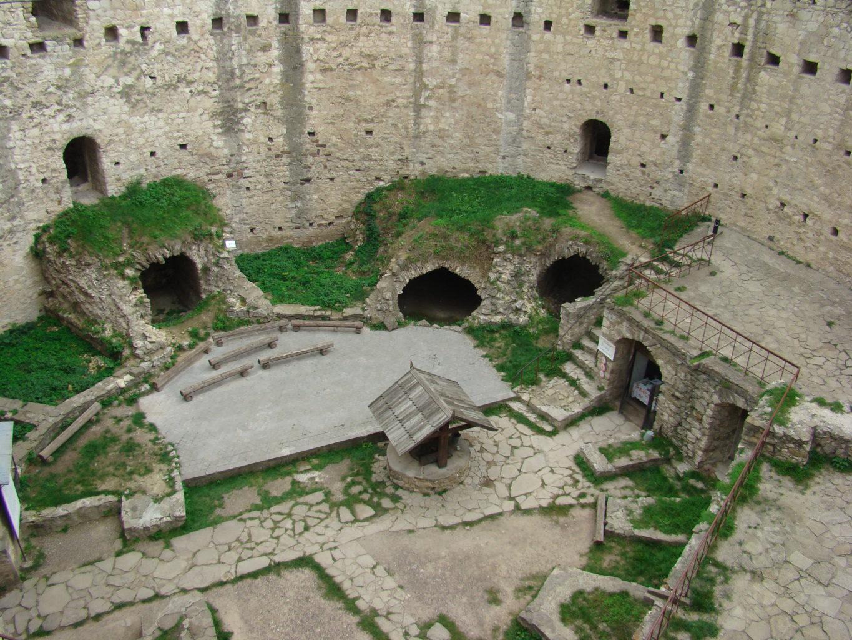 внутренний двор крепости Сорока фото