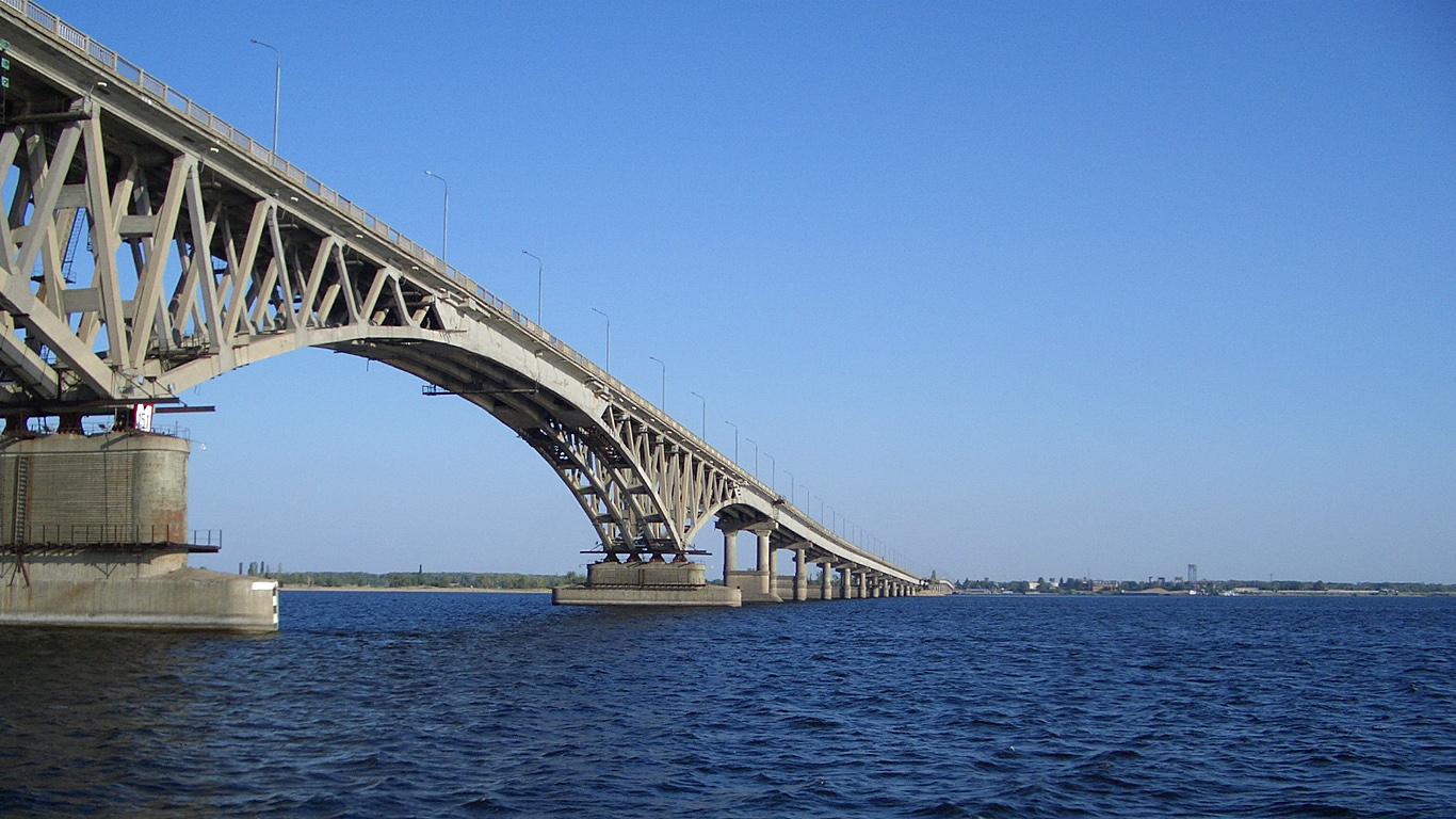 фото Саратовского моста