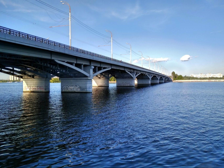 фотография на Чернавском мосту в Воронеже
