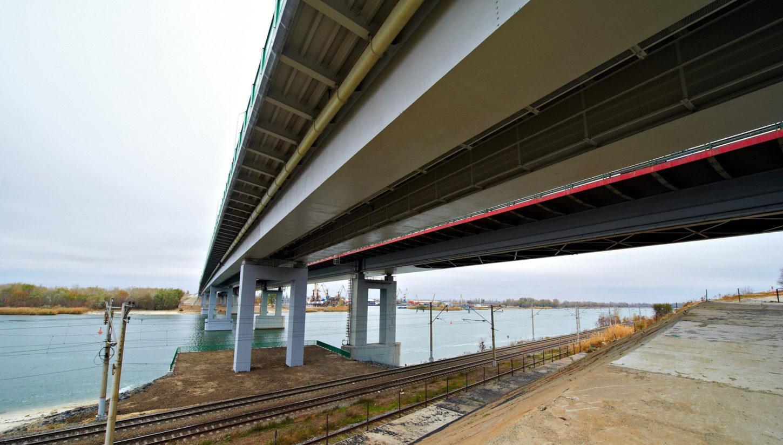 под Аксайским мостом фотография