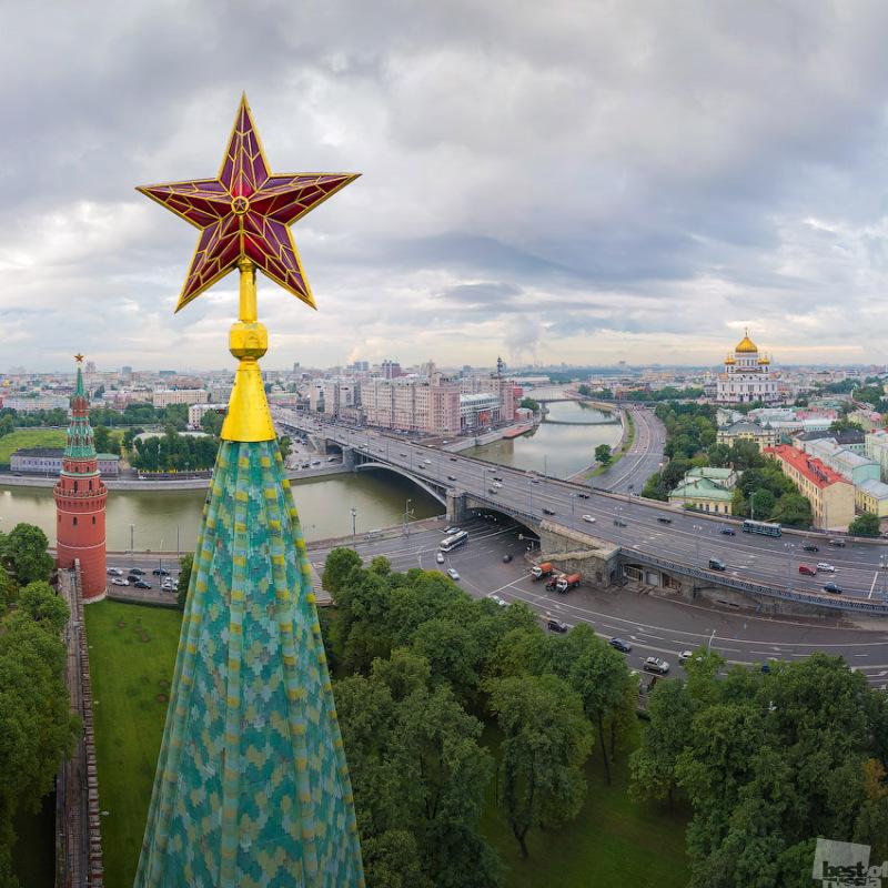 фото звезды на Боровицкой башне