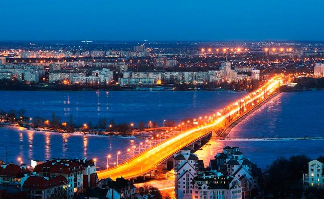 вид на Чернавский мост фото