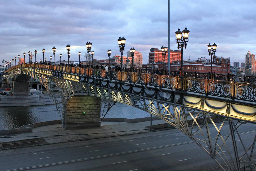 московский Патриарший мост фото