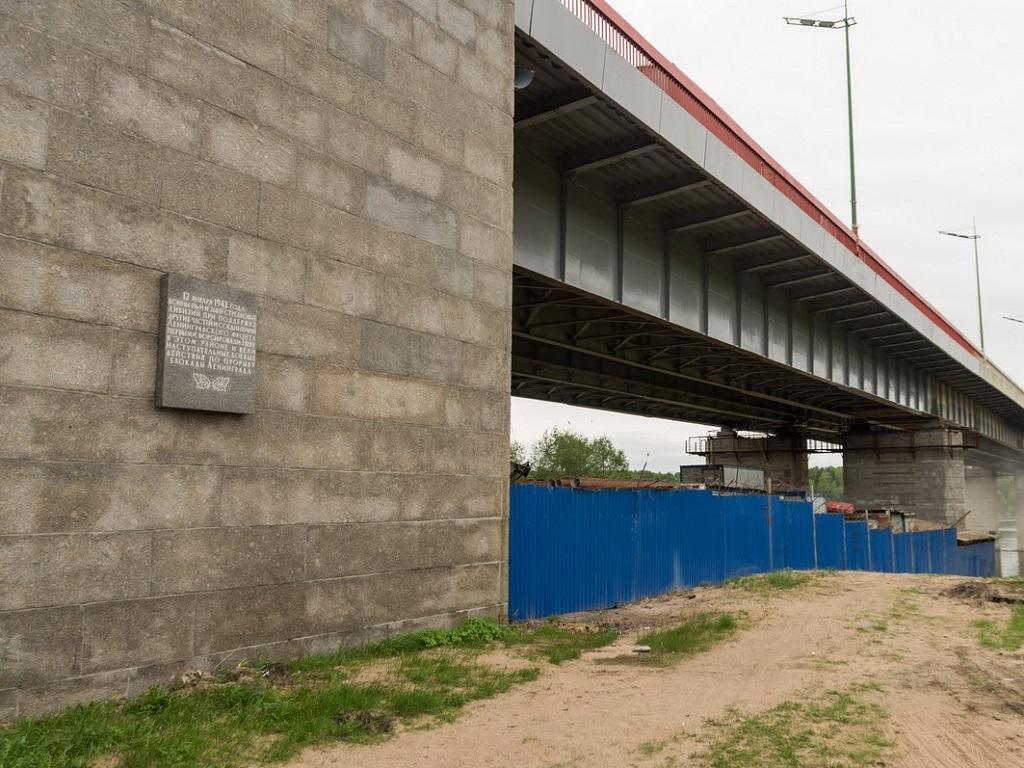 опора Ладожского моста фотография