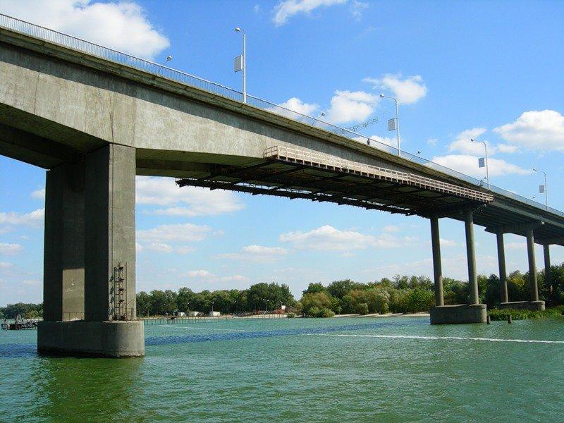 фото под Ворошиловским мостом