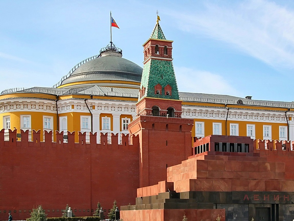 фото Сенатской башни кремля