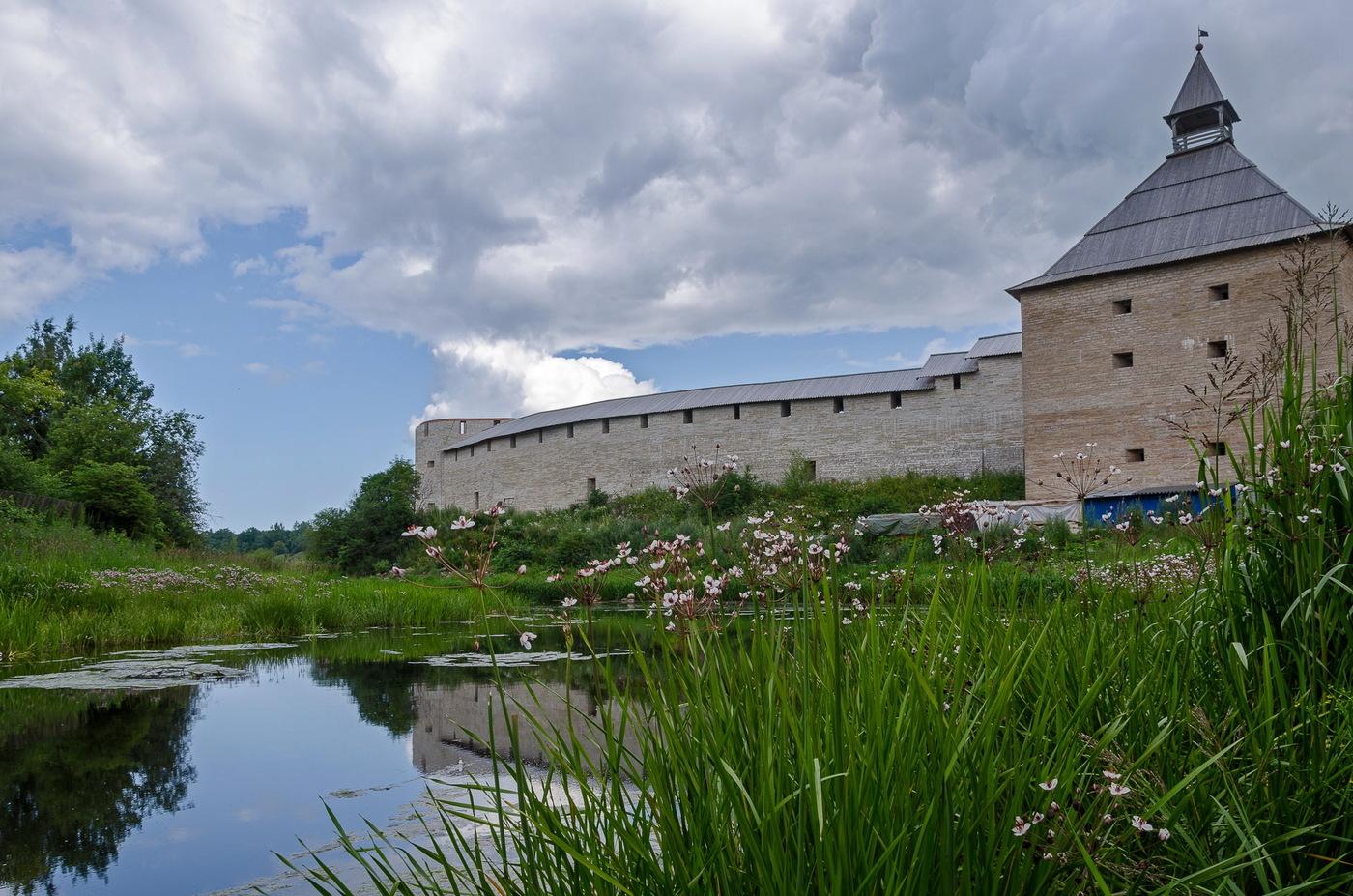Староладожская крепость фотография