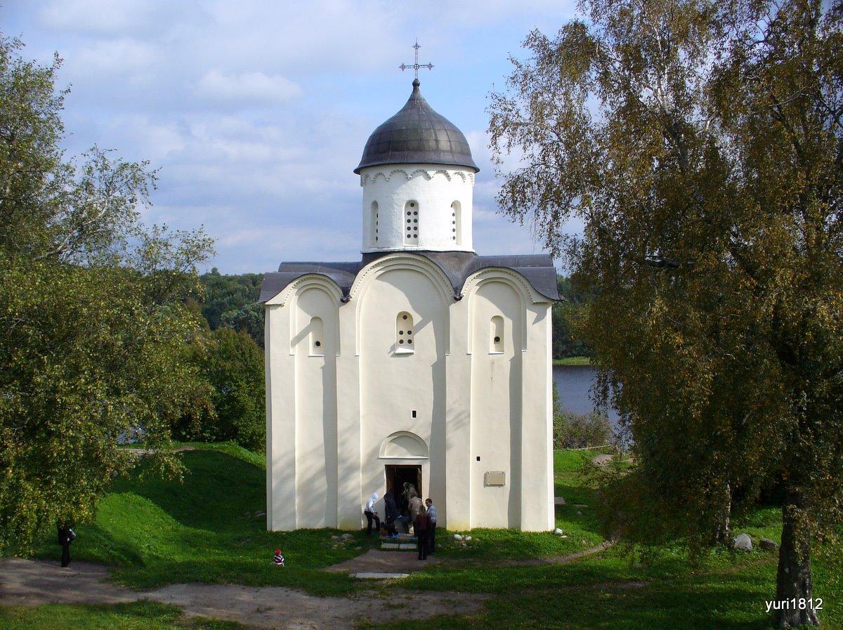 фото Церкви Святого Георгия в Старой Ладоге