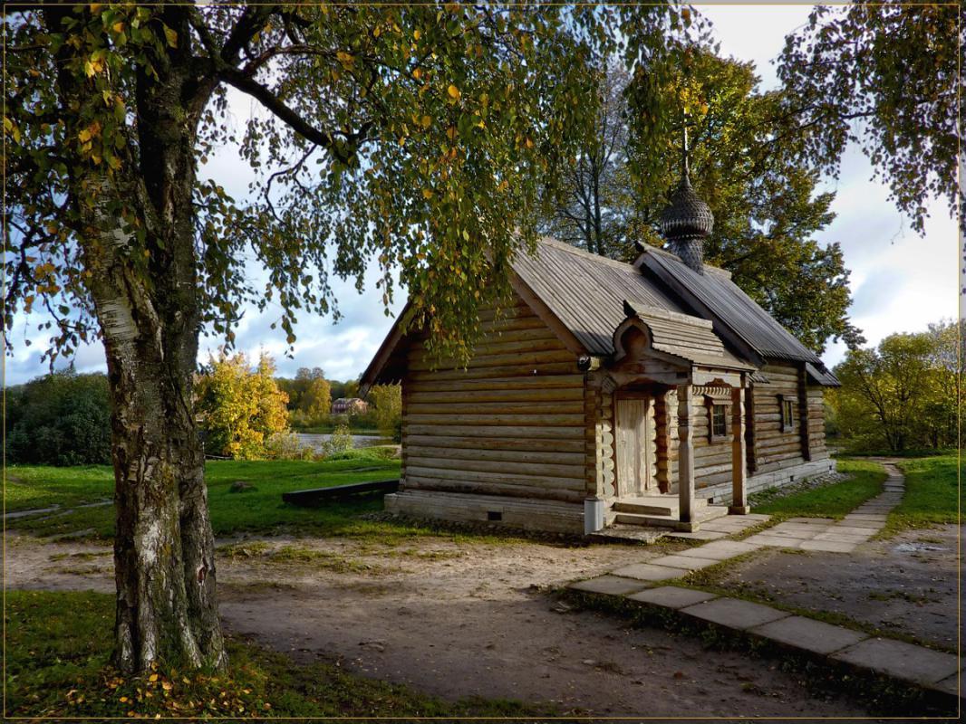 староладожская церковь Дмитрия Солунского фото