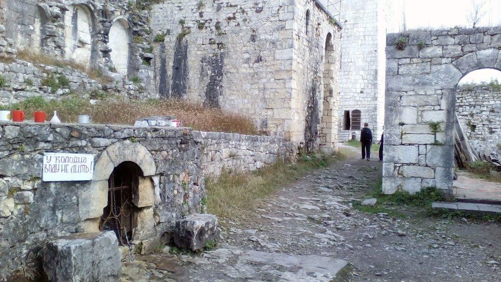 руины Анакопийской крепости фото