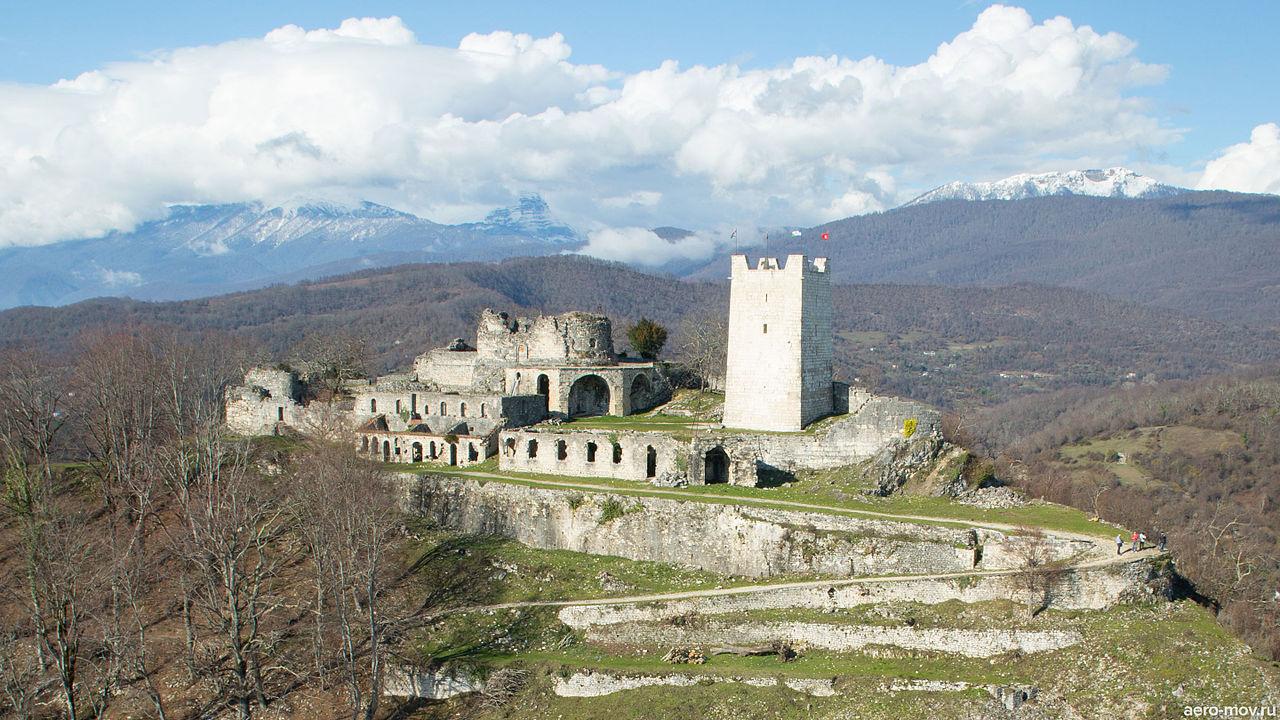Новоафонская Анакопийская крепость фото