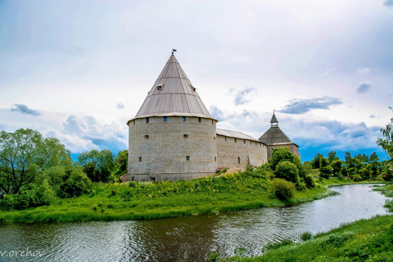 крепость Старая Ладога фото