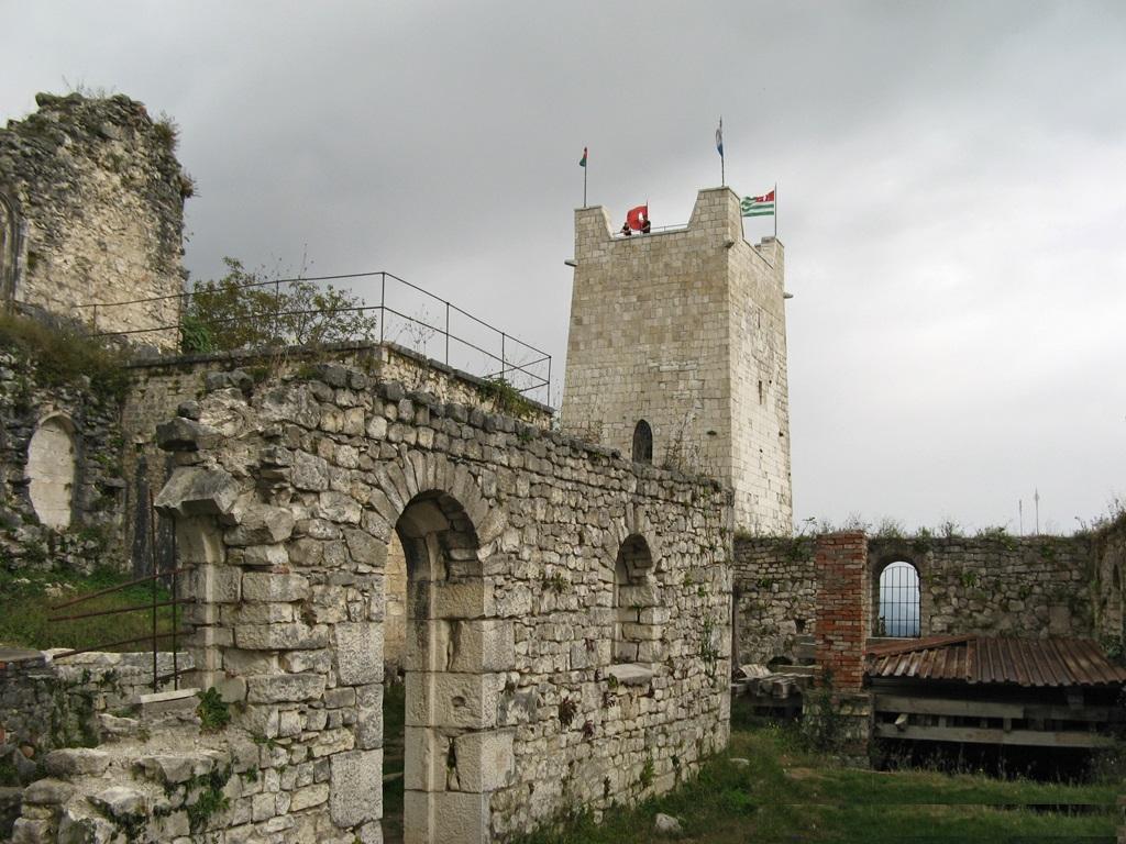 Анакопийская крепость Новый Афон фотография