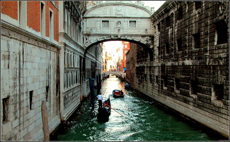 Мост Вздохов в Венеции фото