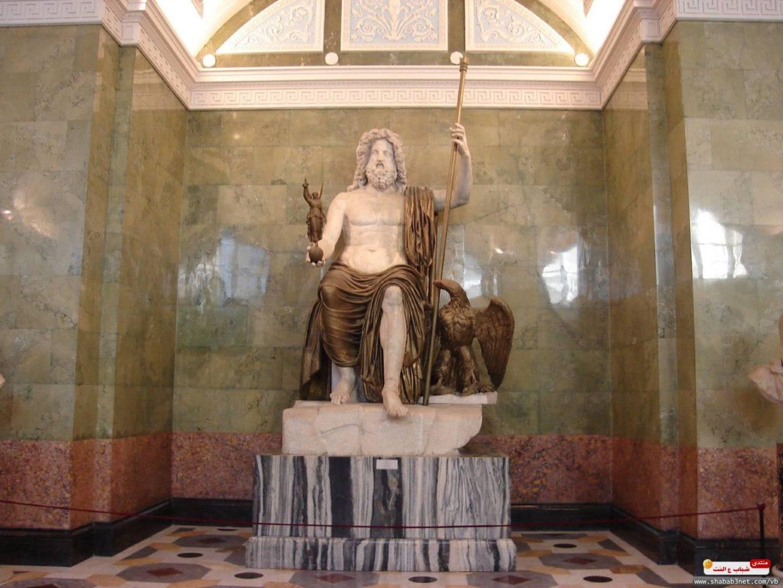 воссоздание статуи Зевса Олимпийского