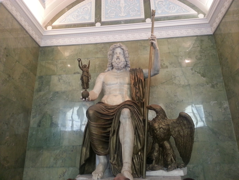 копия статуи Зевса в Олимпии Эрмитаж
