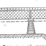Первый железный мост с фермами в России