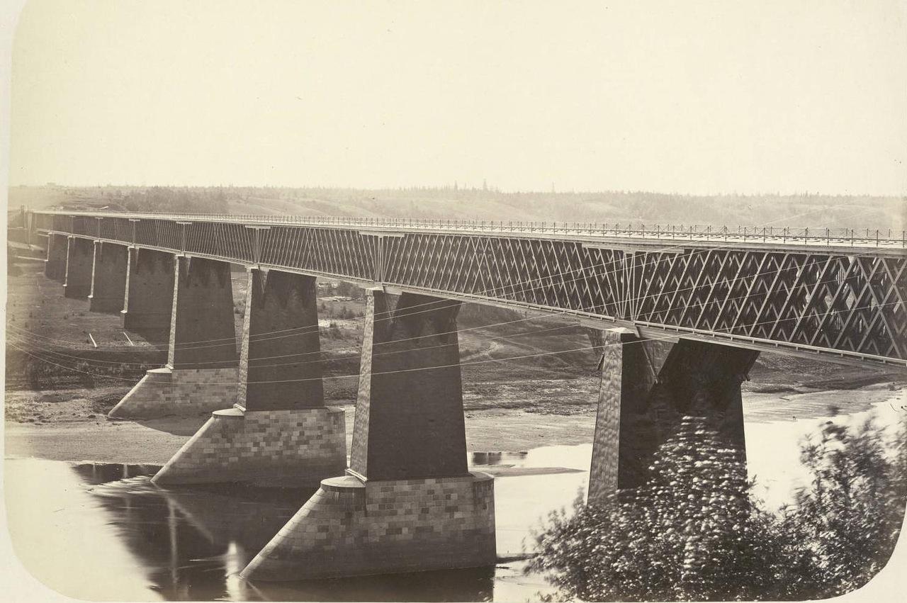 Первые в России мосты балочного типа