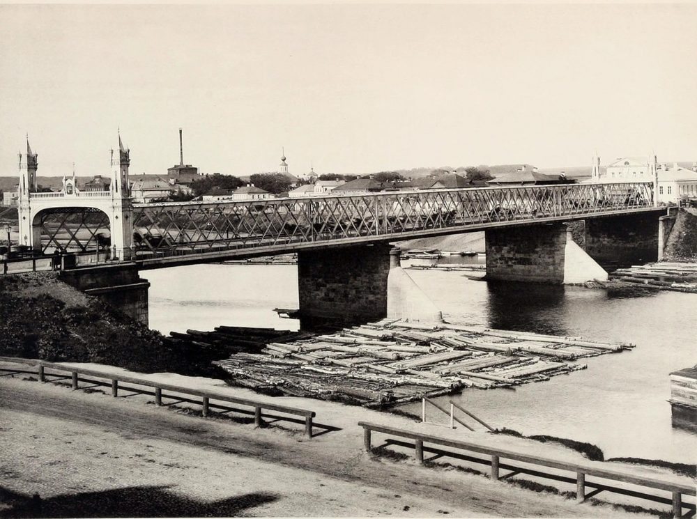 бородинский мост старое фото