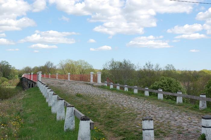 многопролетный мост через р. Казари (Казарген) в Эстонии