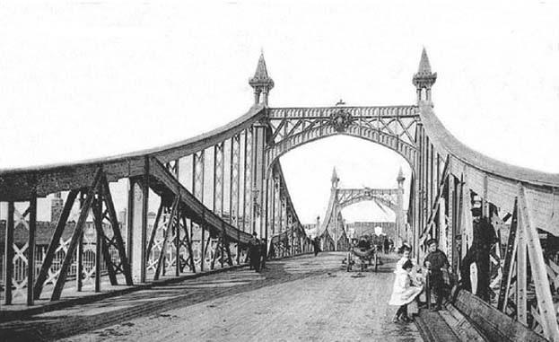 Мост через Волхов 1820—1830-х годов постройки